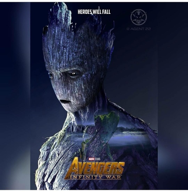SPOILER) In Avengers: Infinity War, why Groot is gone after