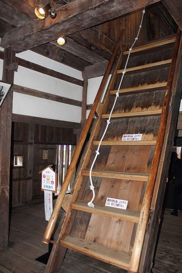 Charmant (Steep Stairs Of Maruoka Castle Wikipedia)
