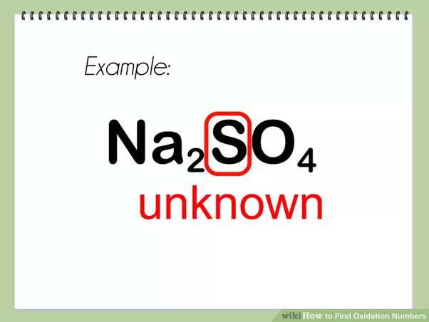 How To Find The Oxidation State Of An Element In A Compound Quora