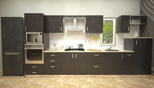 Parallel Modular Kitchen : This Design Type Also Known As Gallery Modular  Kitchen. You Will Have Designated Places For Everything That You Need In  The ...