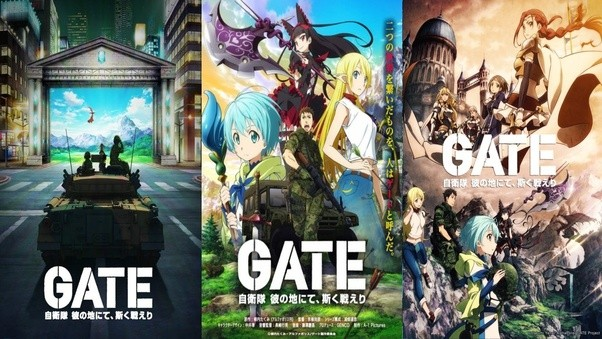 If You Dont Mind A Bit Of Genre Mixing Heres Fantasy Anime Involving The JSDF As They Attempt To Investigate Mysterious Gate That Opened Up In
