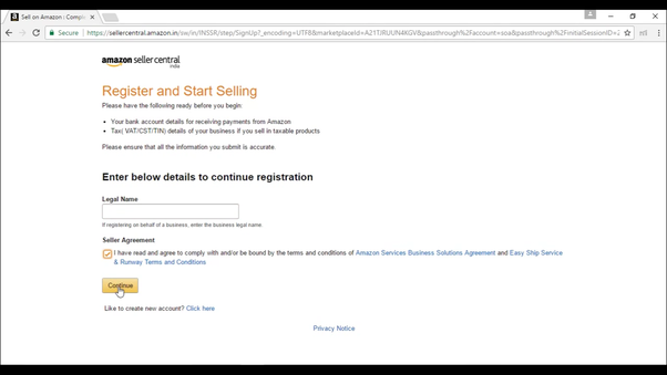 How To Register A Seller Account On Amazon In Quora