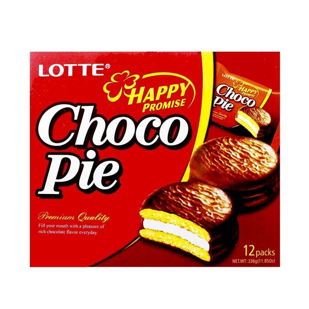 What Do You Think Of Lotte Choco Pie Is It A Good Alternative To Pastry Quora