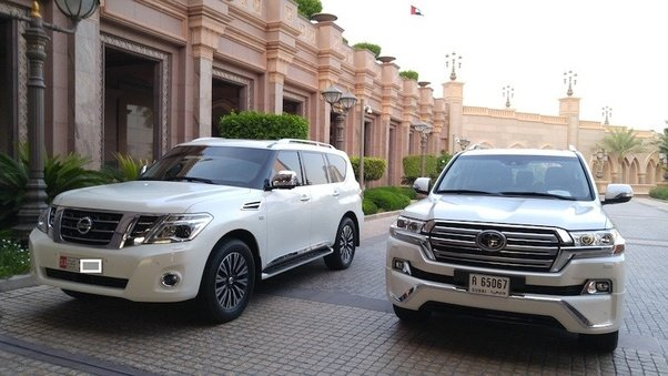 Which is the better large SUV, the Toyota Landcruiser or ...
