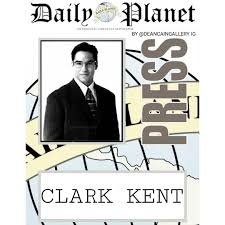 picture relating to Clark Kent Press Pass Printable referred to as Why does Clark Kent effort at the Day-to-day Globe? - Quora