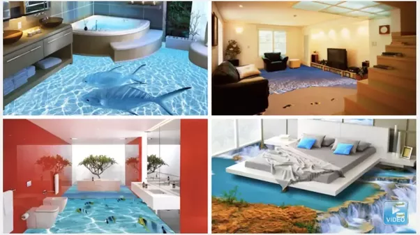 What Material Is Used For D Epoxy Flooring Quora - 3d acrylic floors