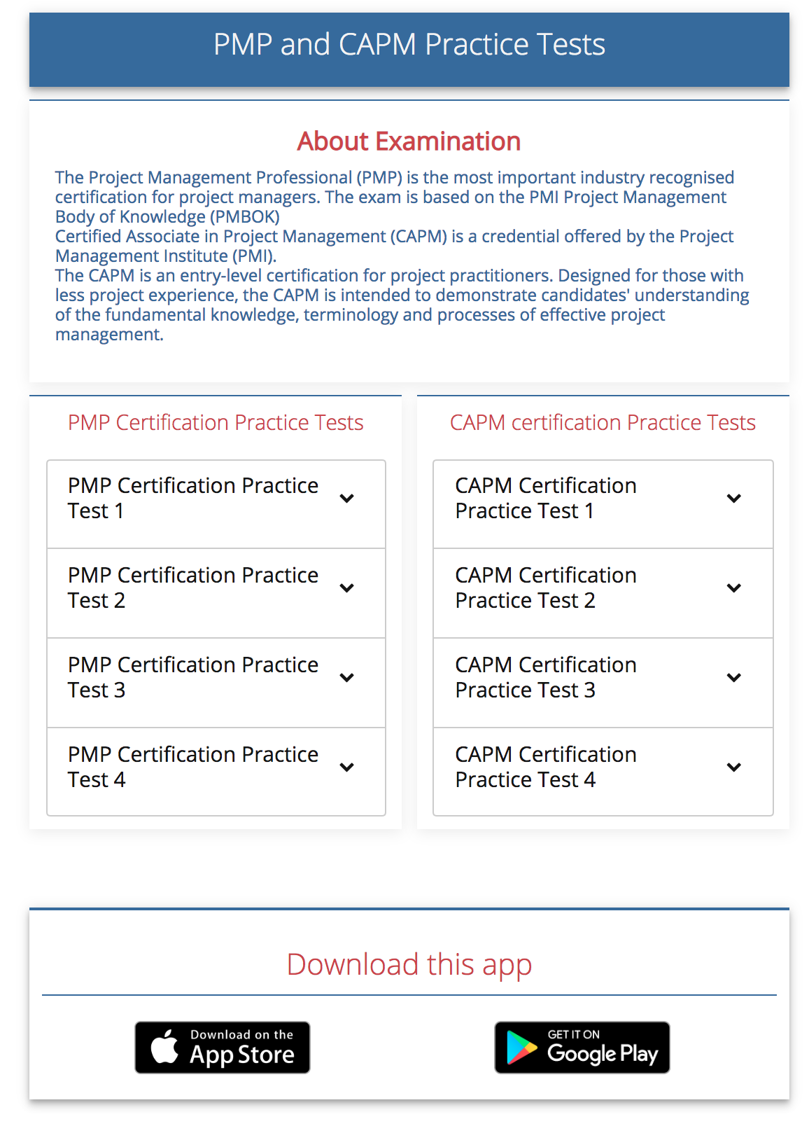What Is The Best Mock Exam For A Pmp Designation Quora