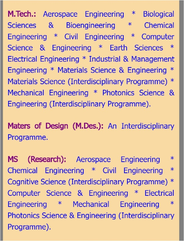 Is An M Tech In Robotics At Iit Kanpur Available Quora