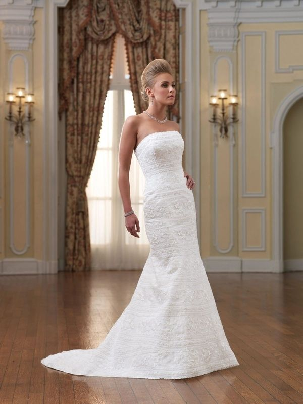 52e59c909c What style of wedding dress would be best for a short bride  - Quora