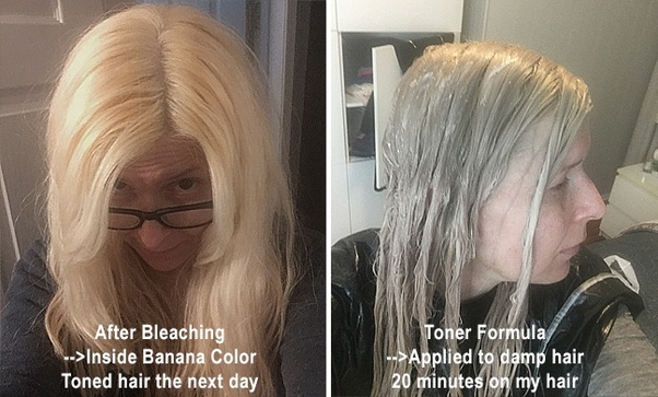 My bleached hair turned out too blonde for my taste, can I ...
