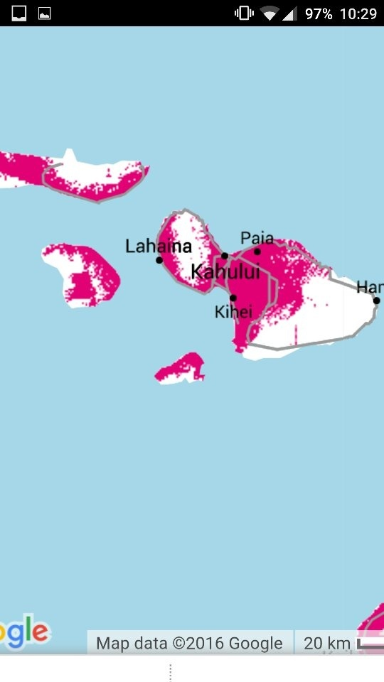 How well does T-mobile work in Hawaii? - Quora