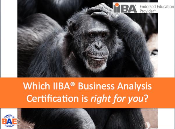 Should I pursue an ECBA or a CCBA? - Quora