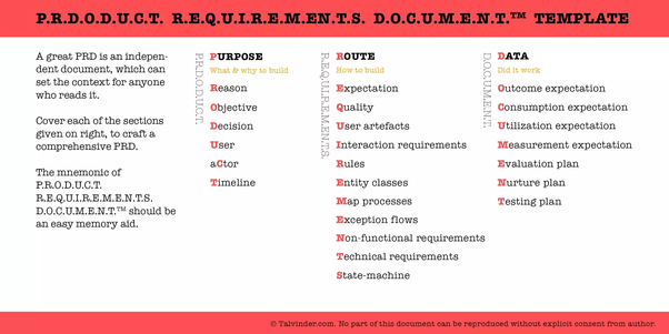 What Are Some Great Examples Of Product Requirement Documents And - Requirements document template agile