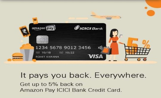 What are benefits of Amazon pay ICICI bank credit card? - Quora