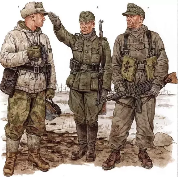 ... but the Wehrmacht uniforms do not seem more u201ccool and intimidatingu201d. If anything US uniforms were a lot more practical than their German counterparts.  sc 1 st  Quora & Why did the American WWII uniforms look so casual compared to the ...