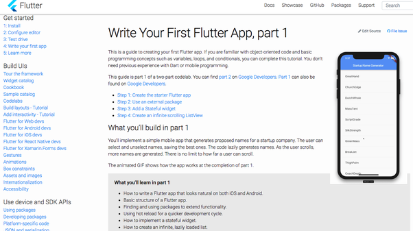 Where can I learn flutter? - Quora