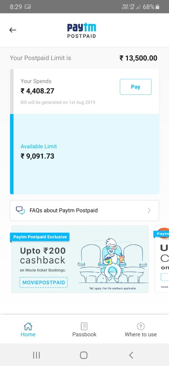 Have you used Paytm postpaid? How was your experience? Is it