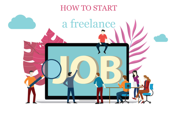 How to start an online work from home or any freelance job