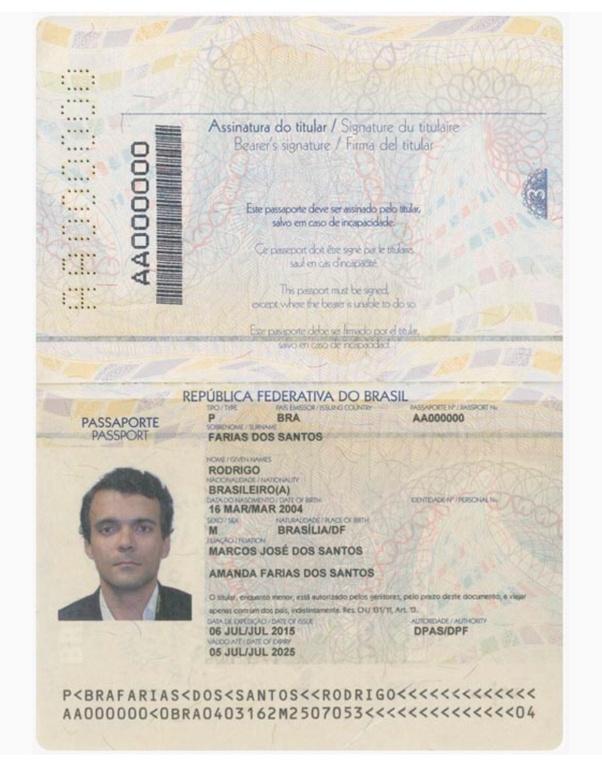 Where Is Passport Book Number In A Brazilian Passport Quora