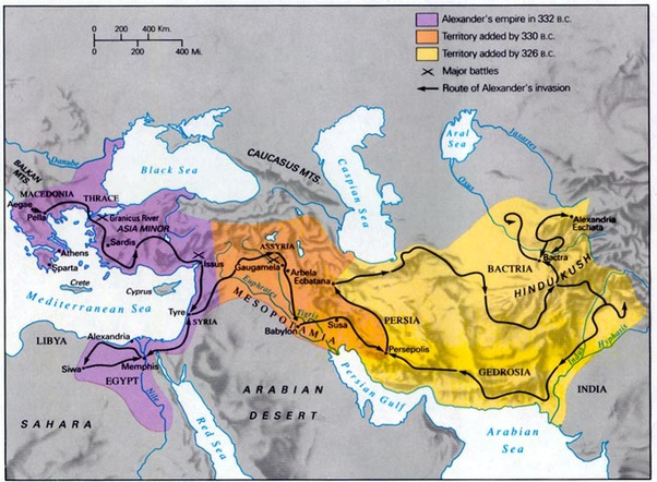 When Alexander The Great Began Invading The Achaemenid Empire In 334 B C E What Was The First City He Went For Did He Go Straight To Persepolis Or Did He Work His Way