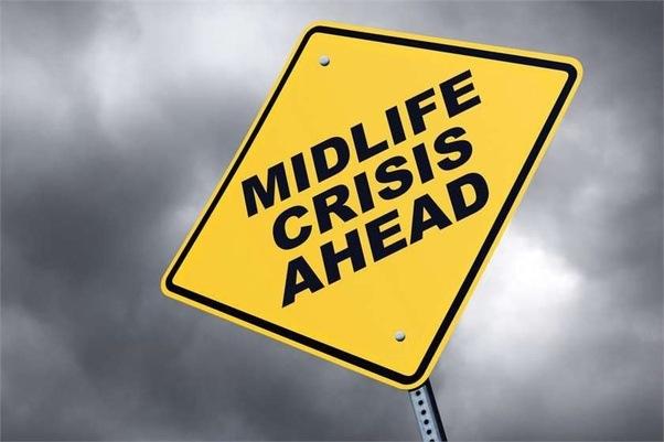 can a woman go through midlife crisis