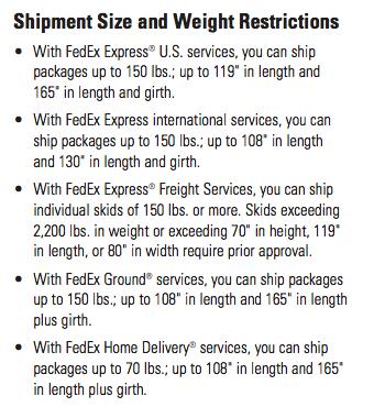 ¿Qué es mejor para paquetes internacionales grandes: DHL, UPS o FedEx?