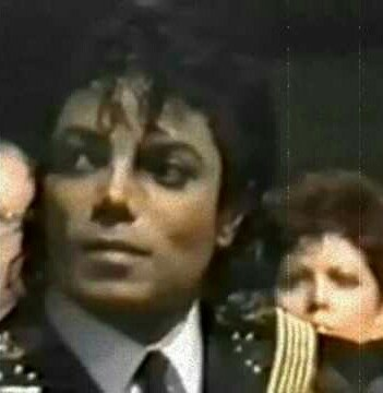 How did Michael Jackson first react when he found out Diana