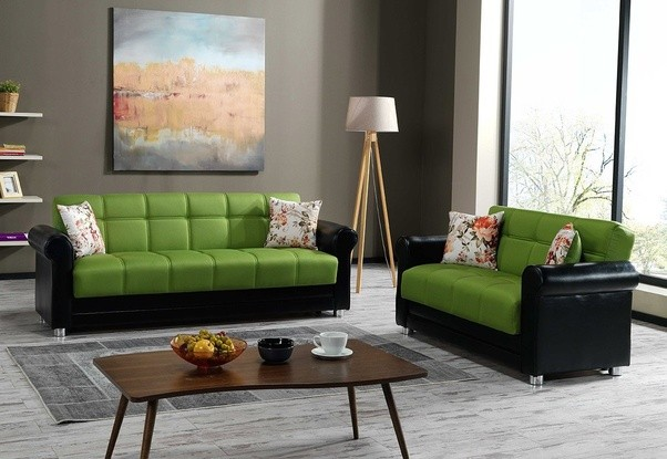 Green Colour Sofa Frasesdeconquista Com