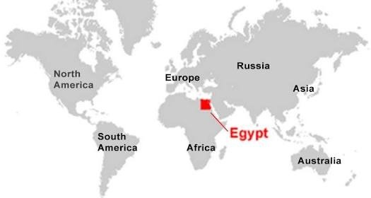 In what continent is Egypt Quora