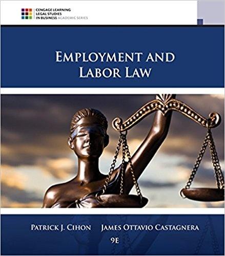 Labor Law 9th Edition Cihon
