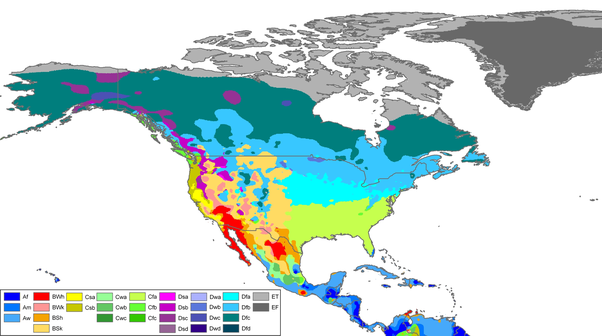What country has the most climate zones la kppen within its mexico has almost all the climates you can ask for i think that the only one you can miss is the arctic regions this map speaks for itself gumiabroncs Image collections