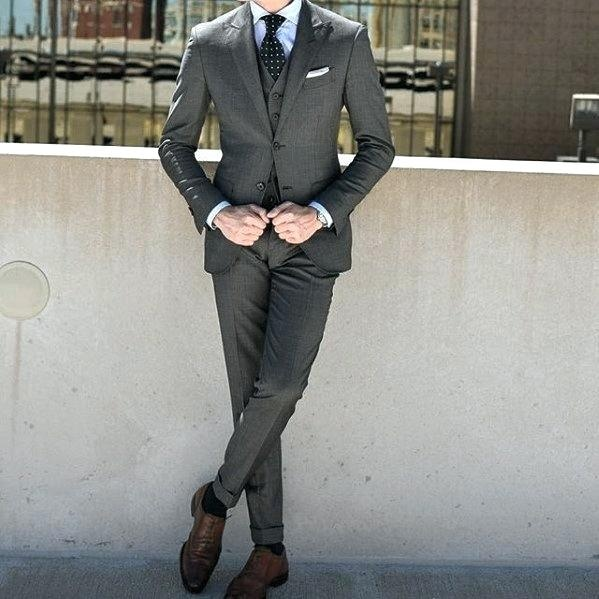 Do brown shoes go with gray pants? - Quora