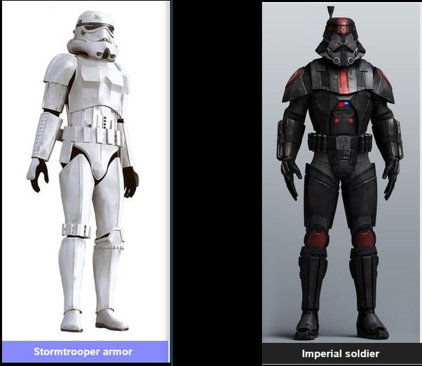 was the sith trooper armor or galactic republic armor more