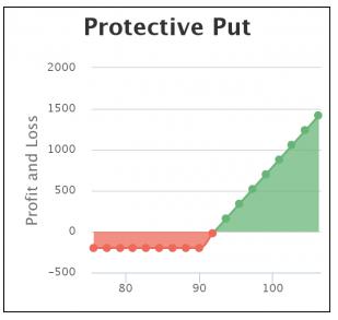 Option strategy hedge excessmovement
