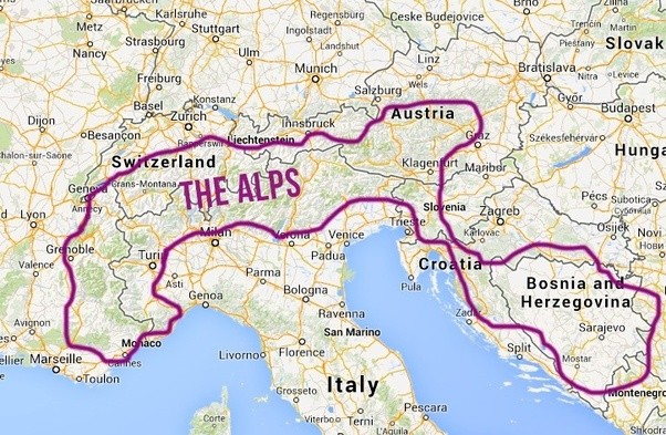 Which country has the best most beautiful Alps Quora
