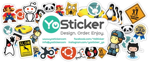 ... durable and waterproof custom vinyl stickers. You can do everything  online - create or upload your design and complete your order.
