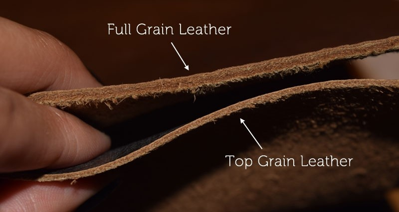 What S The Difference Between Full Grain Leather And Top Grain