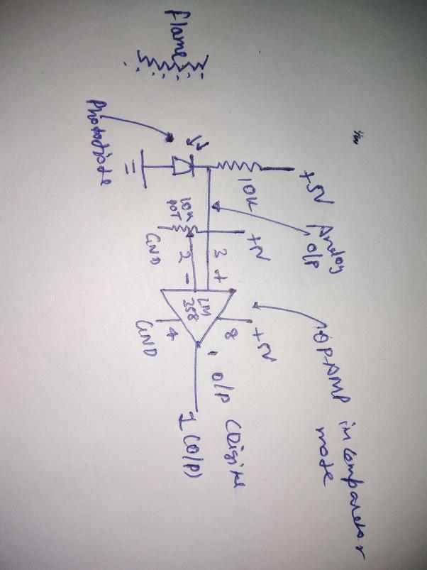 How does the IR flame sensor work? - Quora