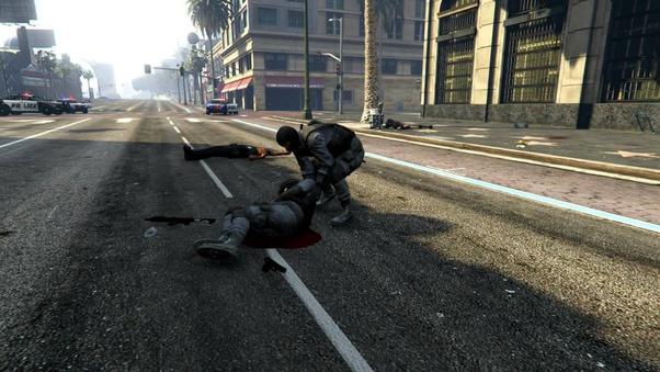 GTA5 Polizei rettet
