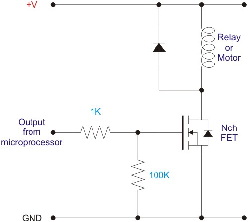 why does my electric circuit to control a 12v circuit  solenoid  with a 5v circuit  gpio