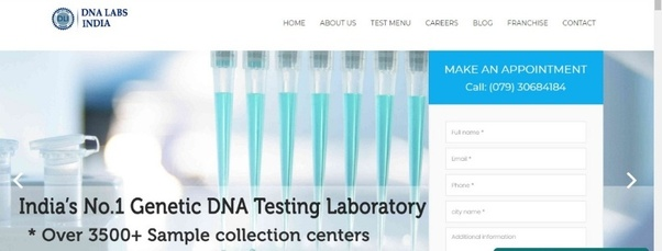 What is the cost of DNA test in India? - Quora