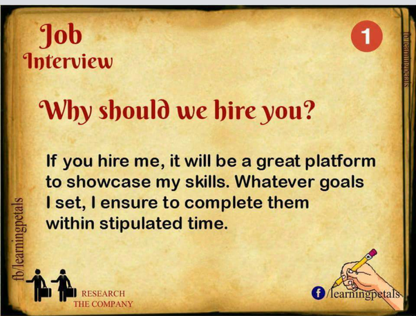 What are the best answers to interview questions? - Quora