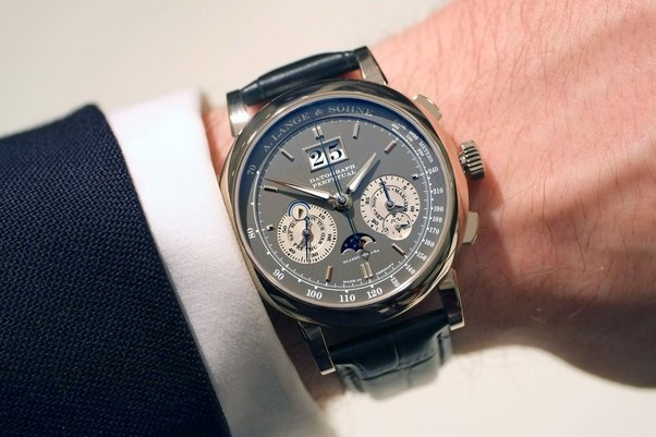 This Grey Dialed Model Is One Of The Best Watches Ever Been Produced Period