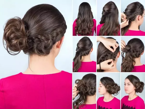Complete Your Hair Updo With Beautiful Accessories And Hairspray To Add  Shine And Lasting Strength To The Hairstyle.