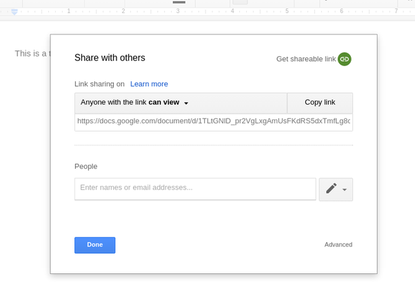 how to open google docs anonymously