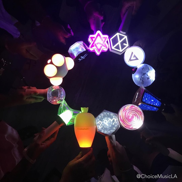 What S The Deal With K Pop And Lightsticks Quora