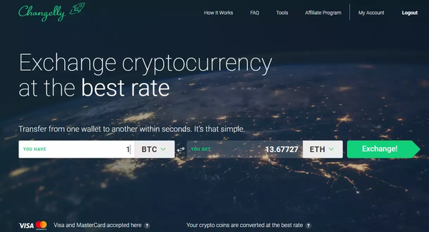 create your own cryptocurrency exchange like shapeshift