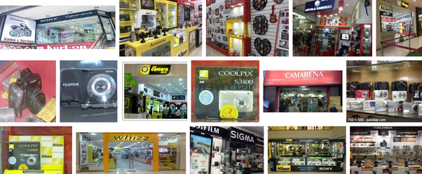 Which is the best place in Bengaluru to buy DSLR accessories? (I wanna buy a tripod and a remote