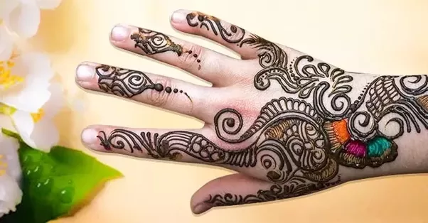Mehndi Hands Png : From where can we get simple karva chauth mehndi designs quora