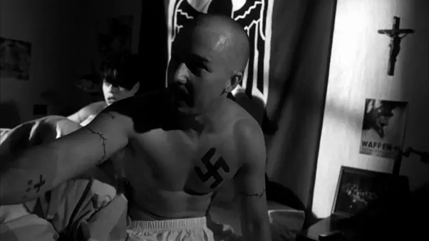 psychological constructs in the movie american history x Movies and their psychological affect is explored the history of movies as well as horror films and in the 1930s it iconized the american horror movie.